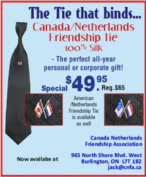 Canada-Netherlands Friendship Tie